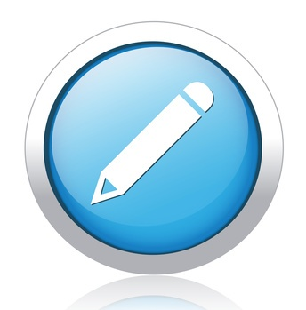 pencil button