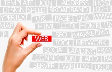 Web concept or internet