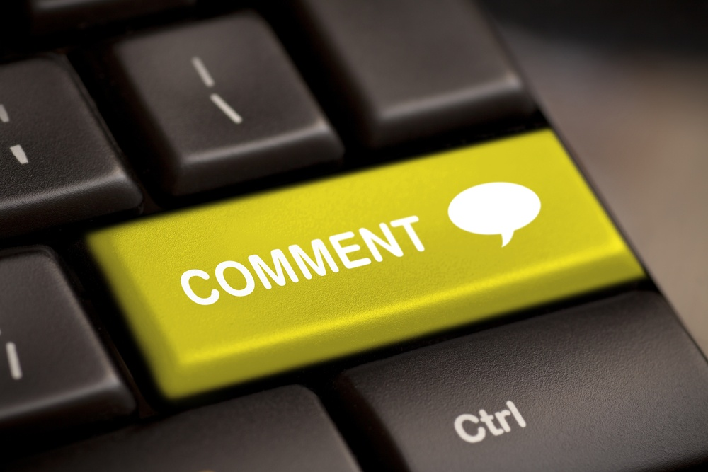 approving comments on my blog